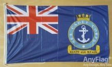 SEA CADETS CORPS ENSIGN ANYFLAG RANGE - VARIOUS